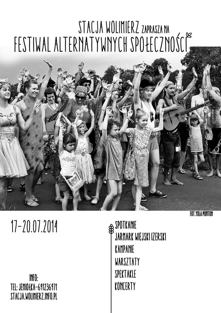 Stacja Wolimierz - Festiwal Alternatywnych Społeczności 2014