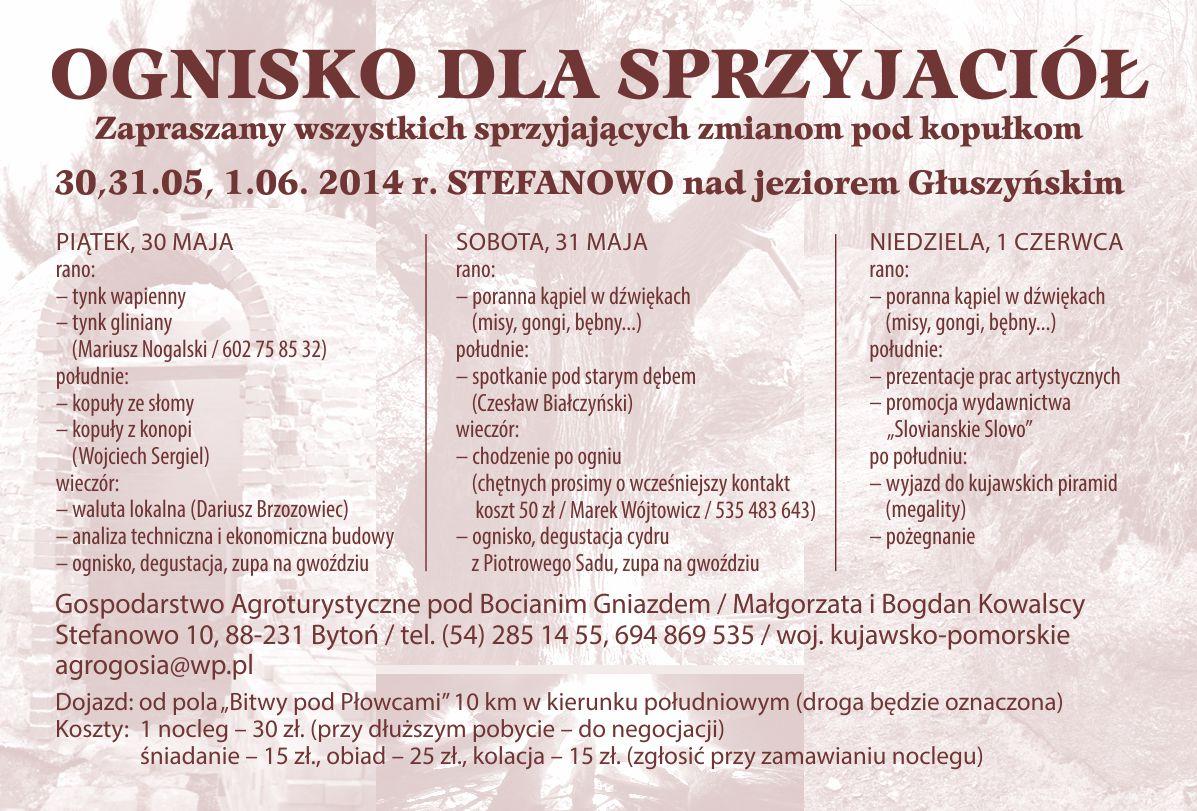 Warsztaty z budowania kopuł w klimatach słowiańskich i nie tylko, czyli Ognisko dla Sprzyjaciół