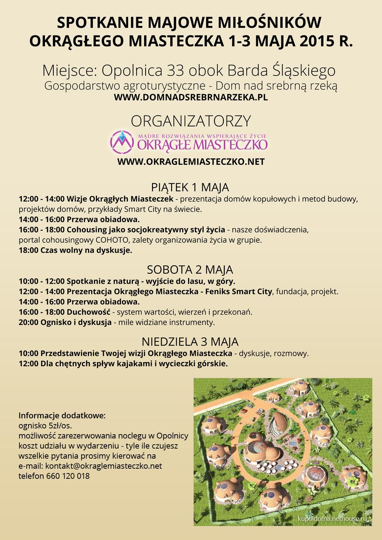 Spotkanie majowe 2015 Okrągłe Miasteczko